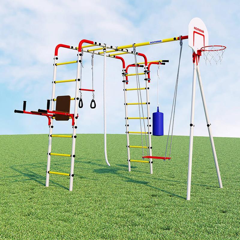 Детский спортивный комплекс для дачи Fitness R.103.20.04
