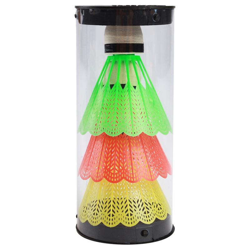 Набор воланчиков SL Aoxun пластик, наконечник пенопласт в тубе (3 шт.)