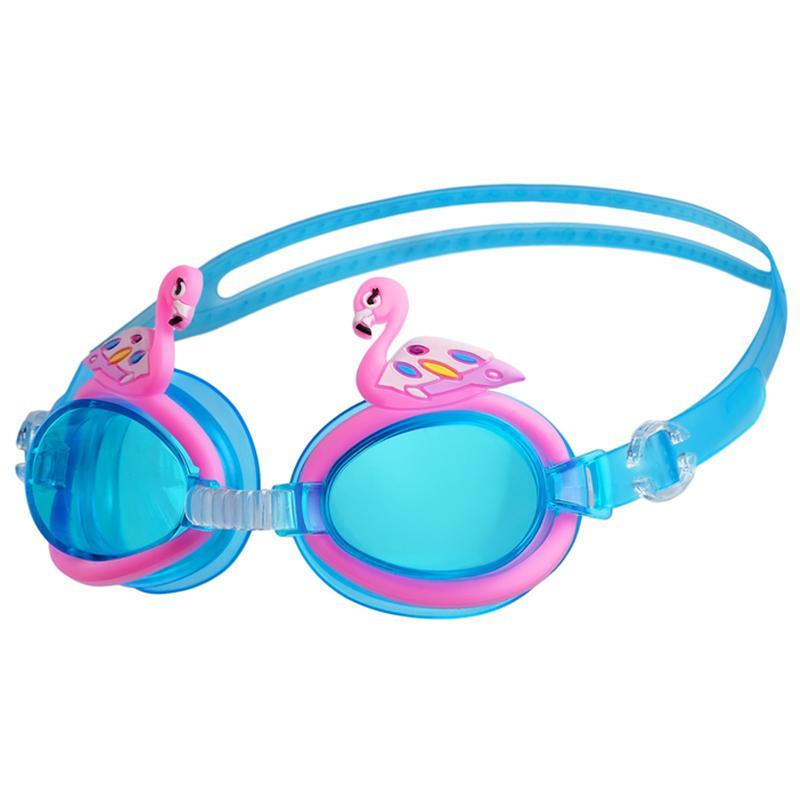 Очки для плавания детские ONLITOP Фламинго