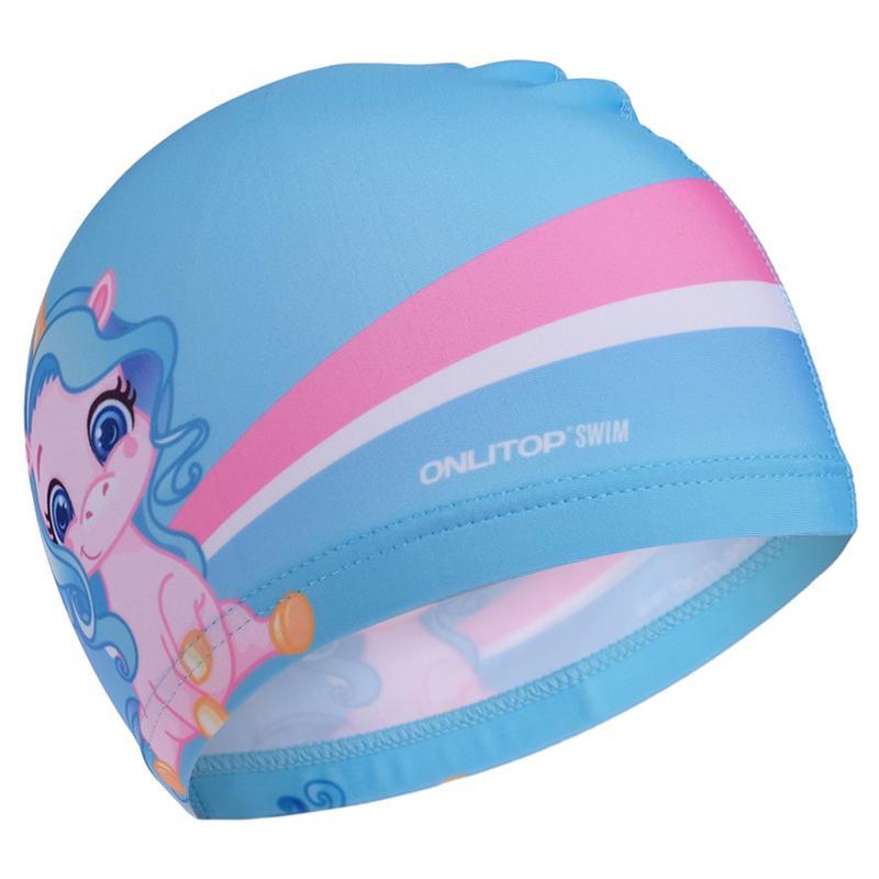 Шапочка для плавания детская ONLITOP Единорожка