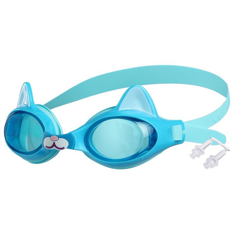 Очки для плавания детские ONLITOP Котёнок (с берушами)