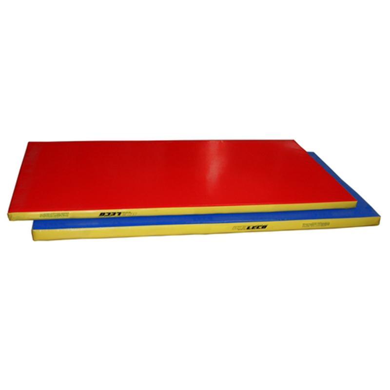 Мат гимнастический 200 х 100 х 6 см (цветной, чехол тент, наполнитель поролон)