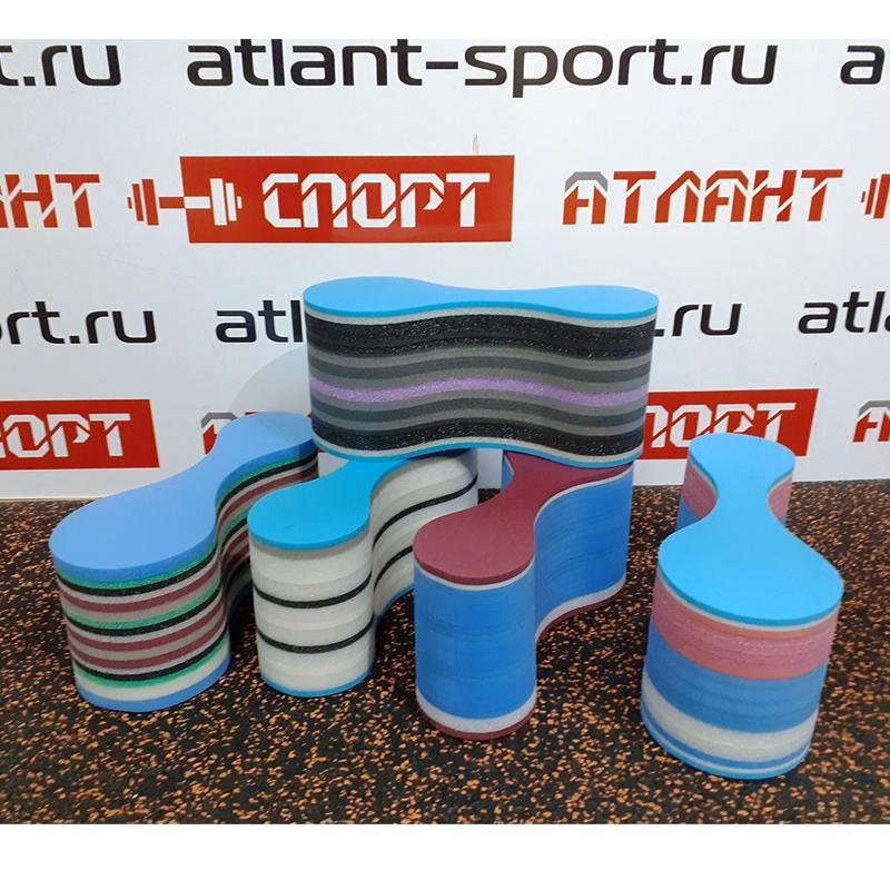 Колобашка для плавания ATLANT, цвет микс 22x9x10 см