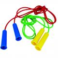 Скакалка цветная с резиновым шнуром 2,5 м
