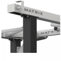 MATRIX MAGNUM A62 Скамья Скотта (в положении сидя)