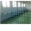 Заградительная (защитная) сетка для спортзалов и  спортплощадок Стандарт, нить - 3мм арт.10030, ячейка 100x100 мм