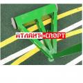 Стойки для бадминтона АТЛАНТ передвижные соревновательные в соотв. с требованиями BWF, с колесами и противовесами в комплекте