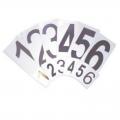 Номера для стартовых тумб 004-0701