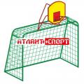 Ворота футбольные (малые) с баскетбольным кольцом И-1