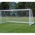 Сетка для футбола KV.REZAC (7,5 x 2,5 x 1,2 x 1,2 м, белая нить 3 мм)