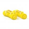 Гантели неопреновые с ручкой REEBOK RAWT-11061YL 2 шт. по 1 кг