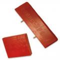Подушка средняя полиуретан красная 38*175*175