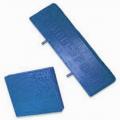 Подушка средняя полиуретан синяя 38*175*175