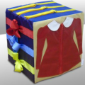 Куб дидактический 30х30х30см арт.9199