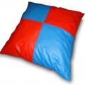 Подушка напольная ОС-06513 50х50 см (винилискожа, поролон)