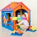 Конструктор детский  Дом ЛН (размер в сборе 76х90х95 см)