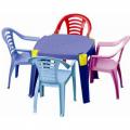 Детский пластиковый стол с карманами Marian Plast 364