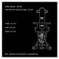 Компактный тренажер Powertec Levergym L-CG13-R