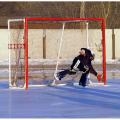 Ворота для хоккея на льду с мячом АТЛАНТ 350 х 210 см