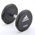 Гантель обрезиненная Adidas 5 кг ADWT-10321