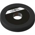 Диск пластиково-металлический 0,5 кг черный диаметр 25 мм