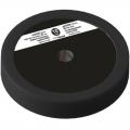 Диск пластиково-металлический 10 кг черный диаметр 25 мм