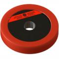 Диск пластиково-металлический 1,5 кг красный диаметр 25 мм