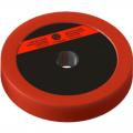Диск пластиково-металлический 2,5 кг красный диаметр 25 мм