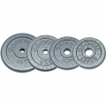 Диск металлический окрашенный NT118  10 кг серый диаметр 26, 31мм