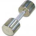 Гантель хромированная МБ-Фитнес 8 кг