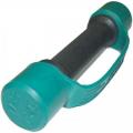 Гантель фитнес цветная обрезиненная 1 кг