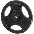 Диск чугунный окрашенный EURO-CLASSIC с хватами 10 кг диаметр 26 мм