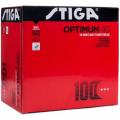 Мячи теннисные пластиковые Stiga Optimum 40+ (белый) (100 шт.)