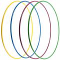 Обруч стальной гимнастический d 900мм, вес 900 г, одноцветный