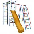 Детский спортивный комплекс ВЕРТИКАЛЬ-А1+П дачный с горкой 3,0 м