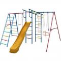 Детский спортивный комплекс ВЕРТИКАЛЬ-А+П дачный МАКСИ с горкой 3,0 м