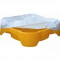 Детская песочница-бассейн Квадратная с покрытием