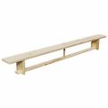 Скамейка гимнастическая 2,5 м с деревянными ножками