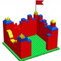 Крепость GigaBloks 5 S на платформе 24 х 21 см