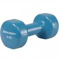 Гантель виниловая Iron Body 6 кг