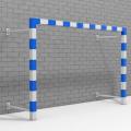 Ворота для минифутбола и гандбола пристенные АТЛАНТ 300 х 200 х 100 см