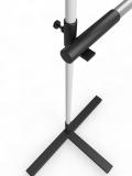 Стойки для прыжков в высоту АТЛАНТ высотой до 1,9 м в комплекте с алюминиевой планкой 3 м