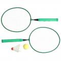Набор бадминтонный детский SL (2 ракетки, волан, мяч, сетка)