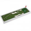 Игра Гольф настольный SL (в комплекте: лужайка с препятствиями, флажок, клюшка, 4 мячика)