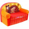 Диван-кровать Маша и Медведь 70 х 35 х 45 см