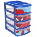 Комод для игрушек малый СЛ 14 х 20 х 23 см 4 выдвижных ящика