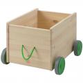 Контейнер для игрушек с колесиками деревянный ИК 49 х 39 х 31 см