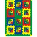 Мягкий развивающий коврик СЛ Алфавит и Цифры