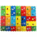 Коврик-пазл СЛ Тачки из 36 элементов