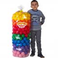 Шарики для манежа-бассейна в прозрачном чехле 7,5 см 320 шт. (7 цветов)
